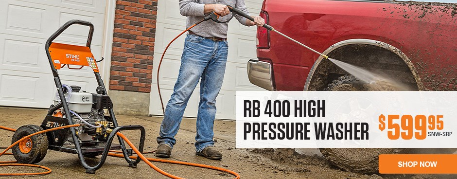 RB 400 DIRT BOSS Pressure Washer